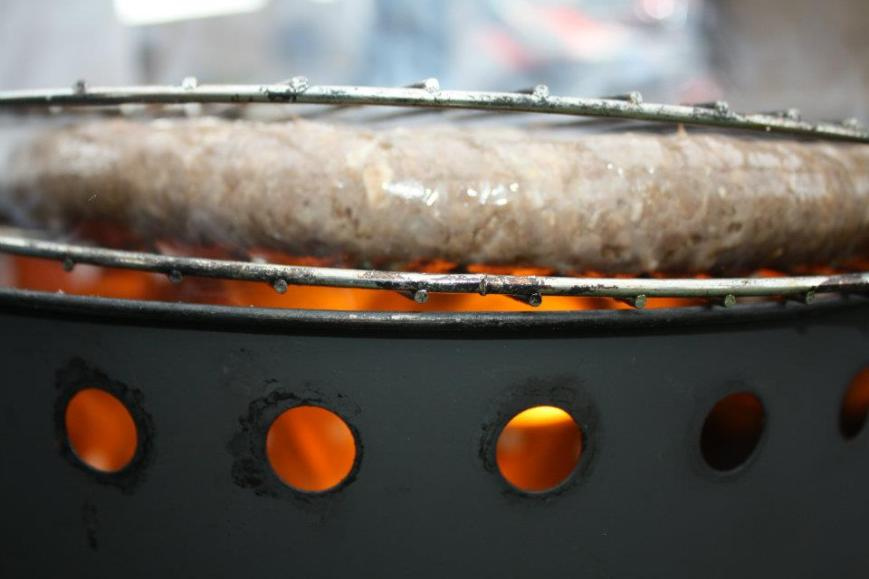Kom Braai - Swannie Boerewors Close Up